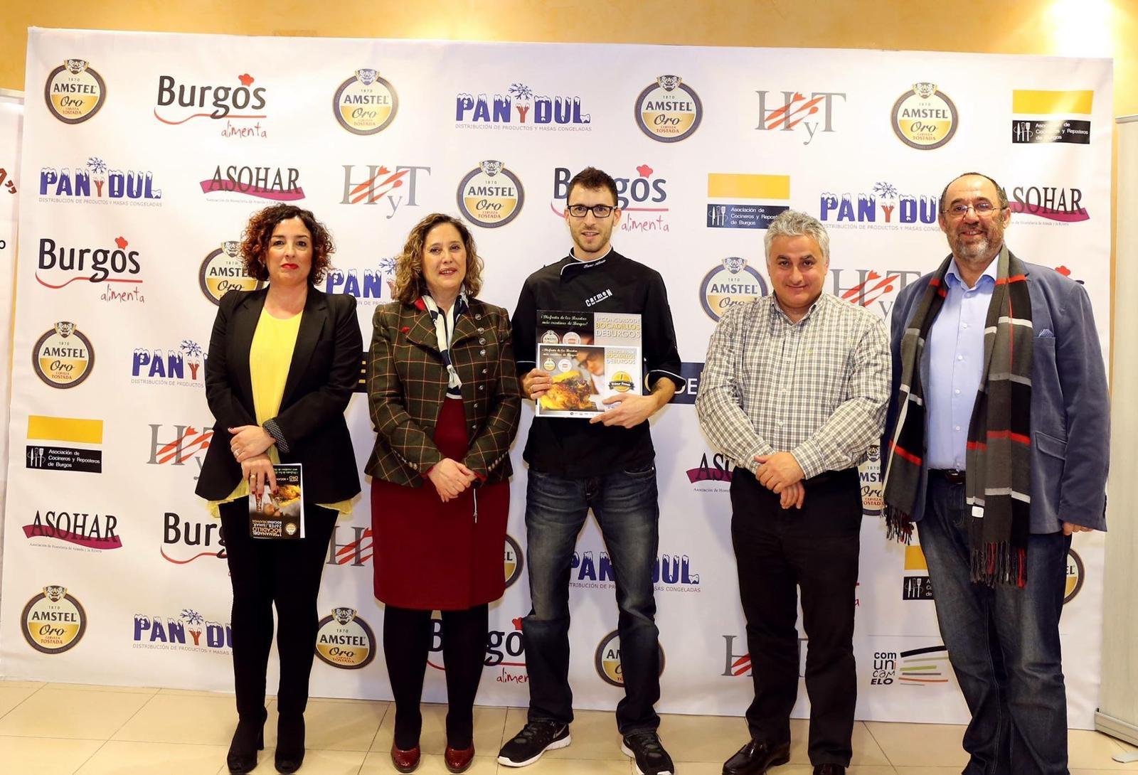 Ganadores del primer concurso de bocadillos de Burgos