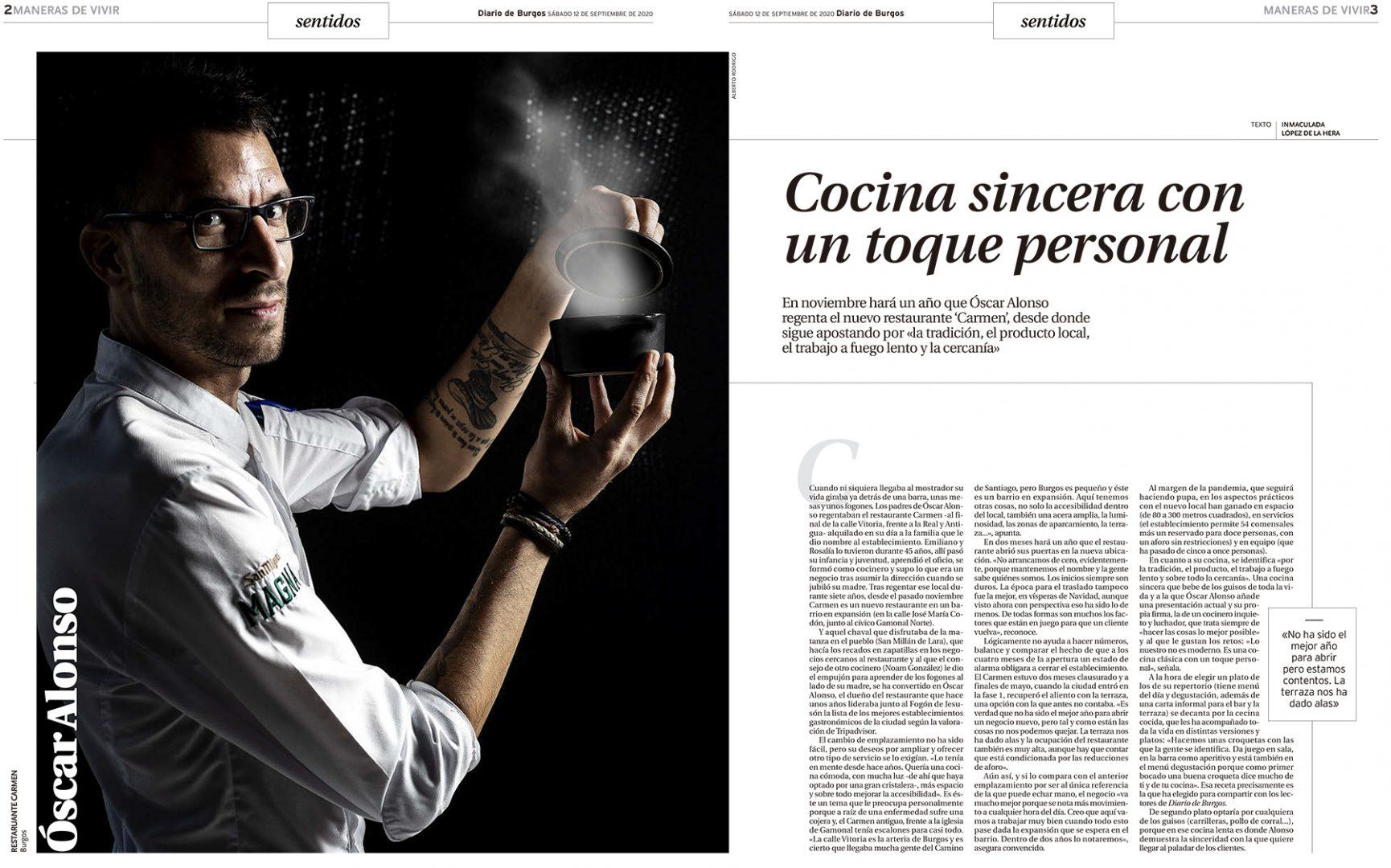 Carmen Restaurante - Diario de Burgos